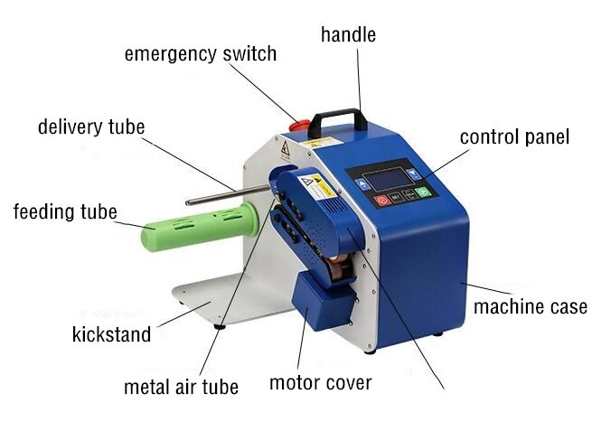 High quality inflate machine CH-02,Multi-function Automatically inflate machine of AIR BUBBLE FILM,AIR CUSHION BAG,AIR CUSHIIN SHEET ETC.Higher quality inflate machine-2