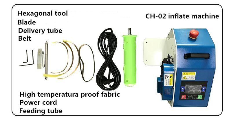 High quality inflate machine CH-02,Multi-function Automatically inflate machine of AIR BUBBLE FILM,AIR CUSHION BAG,AIR CUSHIIN SHEET ETC.Higher quality inflate machine-5