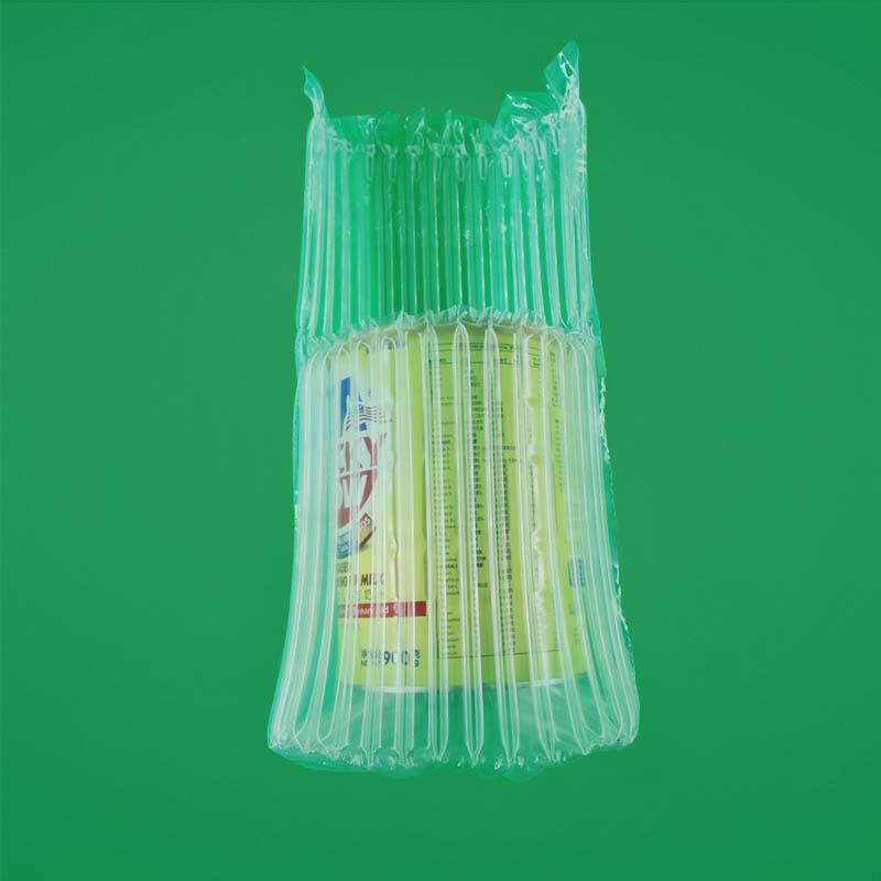 Air Bag Packing Solution Of Milk-Power,Air Bag Packing suitable for height 17-21cm,diameter 11-13cm milk power can,accept special customized milk-power transportation inflatable bag