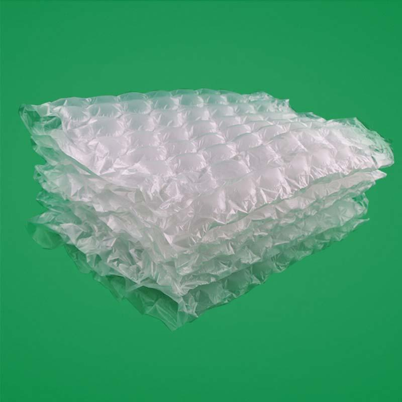 Most popular air cushion package,shock-proof air cushioning film made by PO+PA,can tear it be sheet,Suitable for express packing and logistics transportation