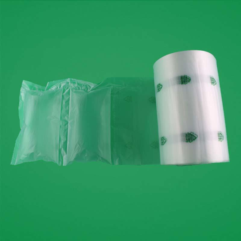 Air Pillow Packing Bag In Roll, Inflatable Air Cushion Roll Film for Void filling / for fragile goods protection