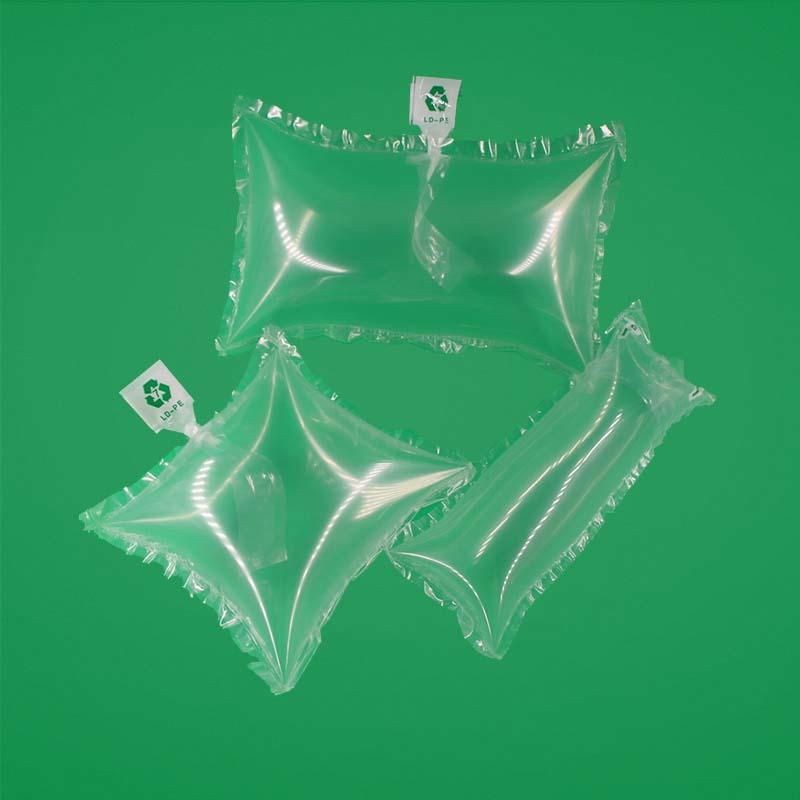 Air Pillow Bags for filling carton or women's bag/bags,supporting、cushioning and filling bag,pollution-free,recyclable packing materials