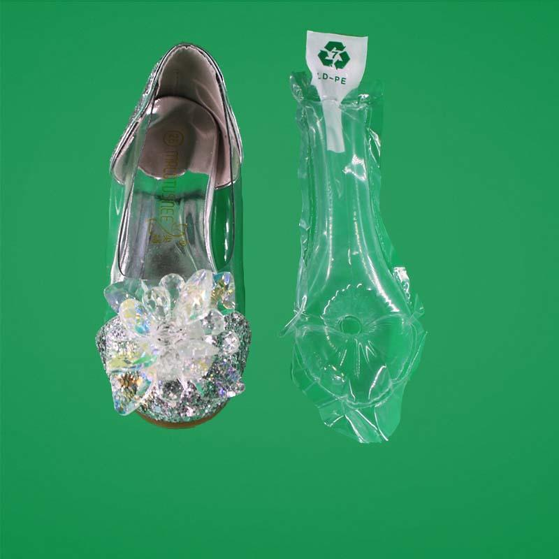 air cushion filling bags for shoes and boots , newest filling materials for shoes and boots,supporting very good buffer effectely
