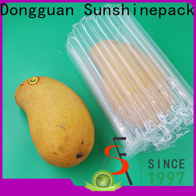 Sunshinepack free sample inflatable back support cushion Supply for packing