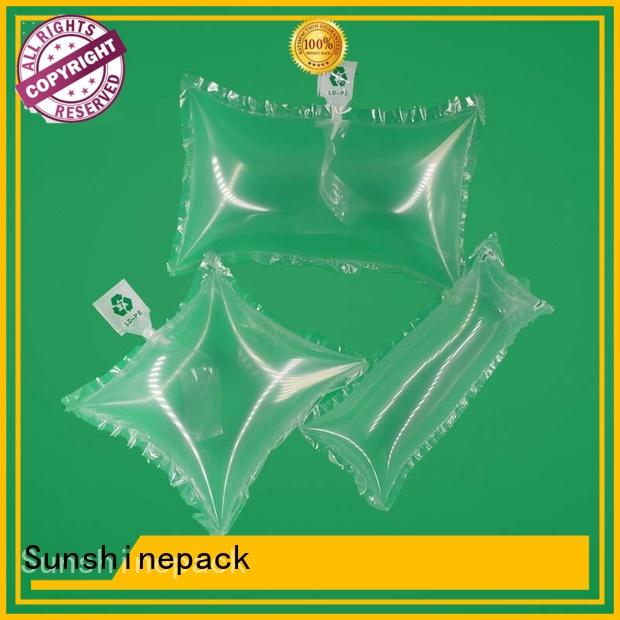 Sunshinepack printing air bag packaging machine factory for transportation