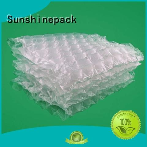Sunshinepack Wholesale air bag packaging suppliers Supply for transportation