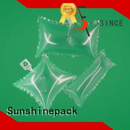 Sunshinepack suitable cheap bubble wrap logo pattern for transportation