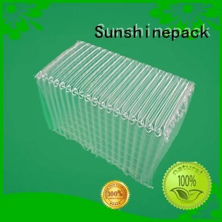 Sunshinepack inflatable bubble sheet cushioning for logistics