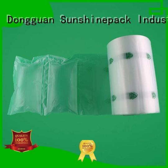 Sunshinepack High-quality air cushion packaging machine in india Suppliers for logistics