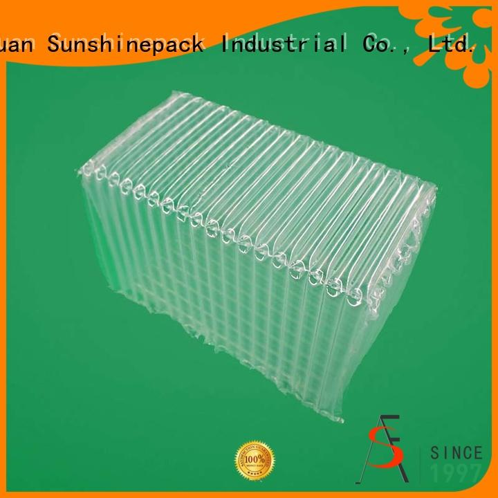 protection packaging coversheet box air column roll Sunshinepack