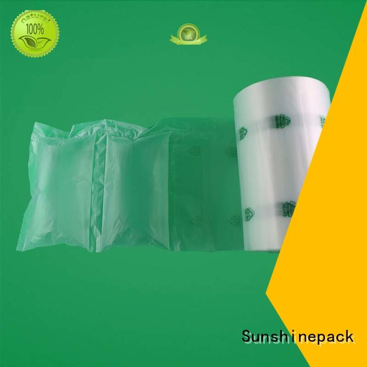 Air Pillow Packing Bag In Roll, Inflatable Air Cushion Bubble Film Packaging