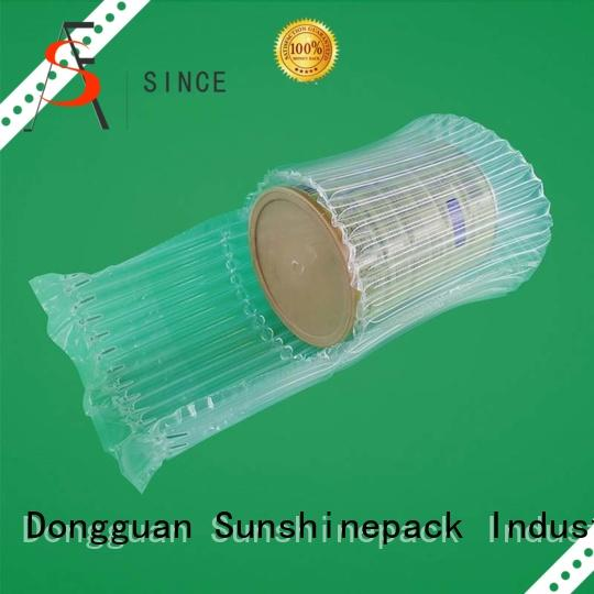 Sunshinepack Brand quality dusring air pouch packaging