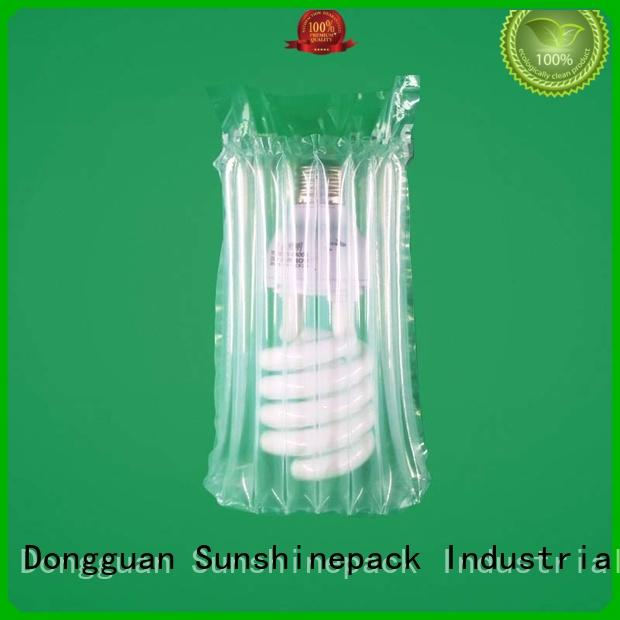 Sunshinepack free sample air pillows for shipping factory for package