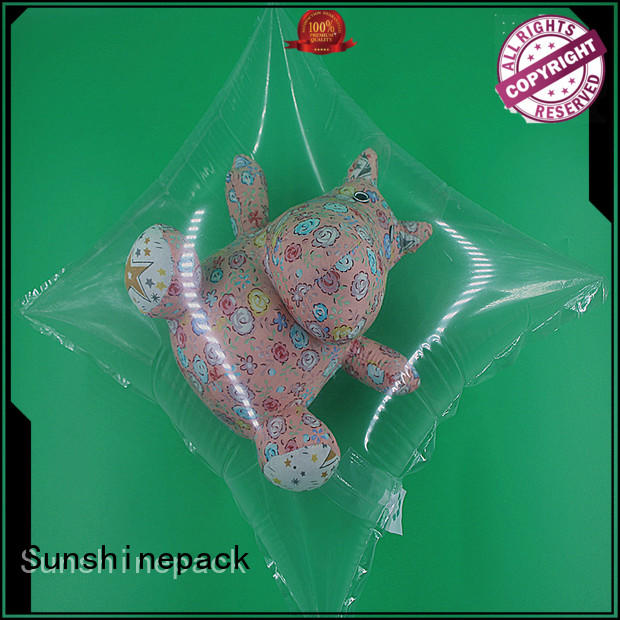 Sunshinepack printing air pouch packaging manufacturers for transportation