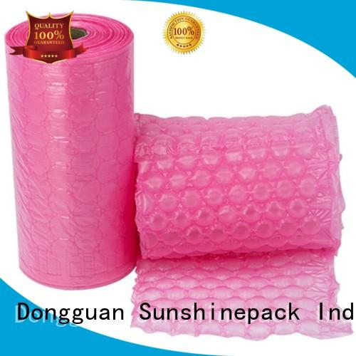 Sunshinepack logo pattern air tube packaging for business for boots