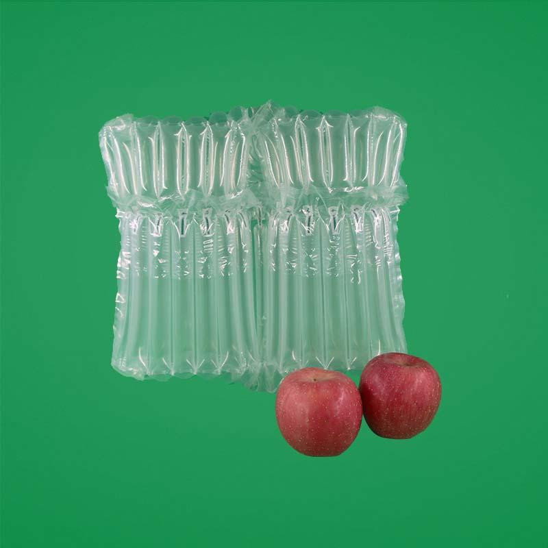 Double Row Apple Air Pillow Packaging,shock proof and fall proof,Waterproof, moisture-proof and anti-extrusion decay,best packing solution for fruits