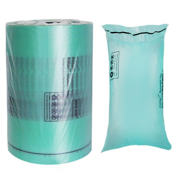 Air Pillow Cushion Bag In Roll, New Recyclable Environmental Protection  Gap Void Filling Packing Materials