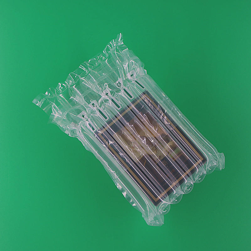 Cushioning Air Column Bag Packaging For Cosmetics,Green Packing Materials And Can Be Recycle
