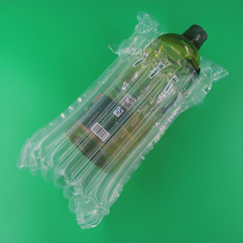Olive oil / edible oil air column cushioning packaging scheme,best protection package during shipment