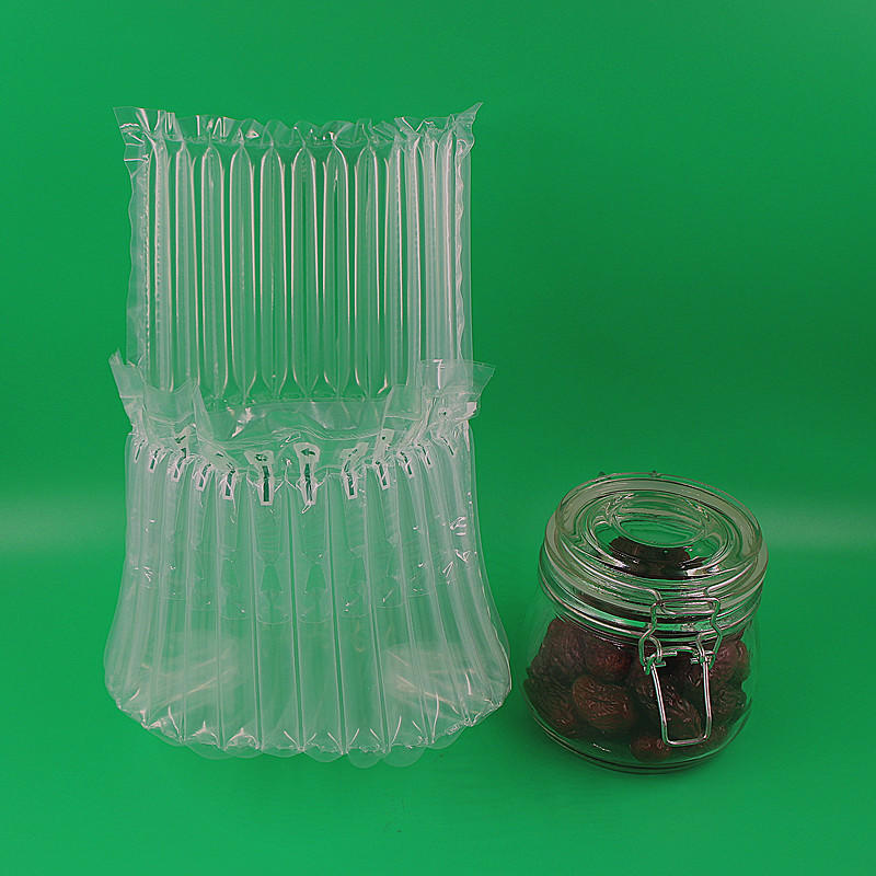 Chilli bottle / pickle bottle / glass bottle / storage bottle air column cushioning packaging material