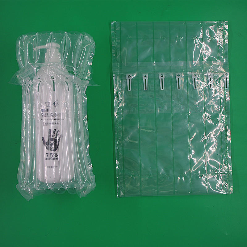 Best quality air column packaging for disinfectant and other protection  washing products