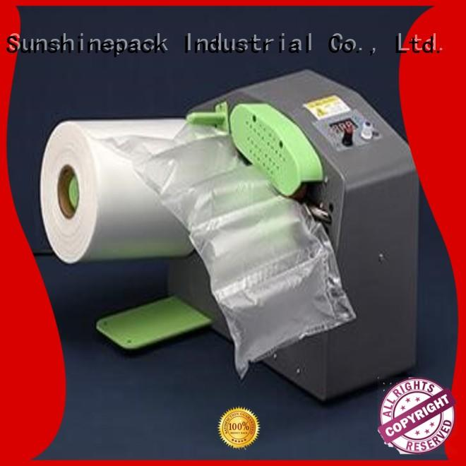 Sunshinepack latest inflate machine company for airbag