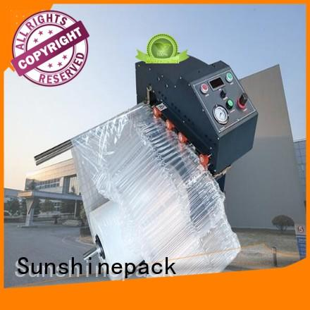 Higher quality inflate machine CLUQ-01,Multi-function Automatically inflate machine of AIR COLUMN ROLL,U/L/Q STYLE AIR COLUMN BAG IN ROLL.Q style airbag inflate machine