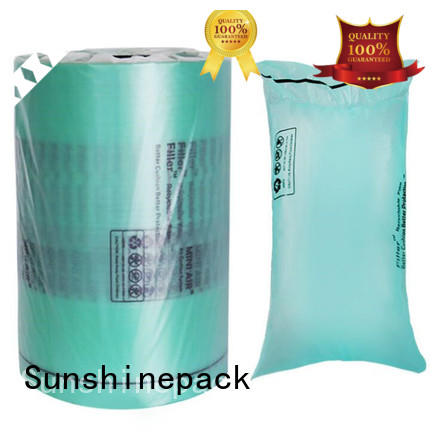 roll packaging cushion packaging printing for womens bag Sunshinepack