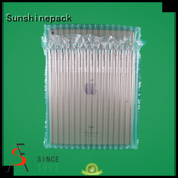 Sunshinepack top brand plastic air bubble packaging manufacturers for goods