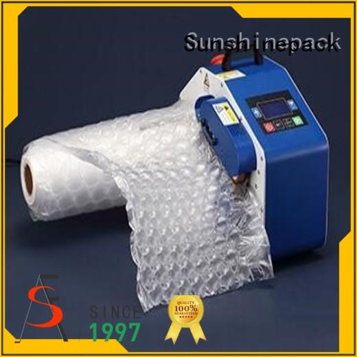 Sunshinepack best manufacturer inflating machine order now for transportation