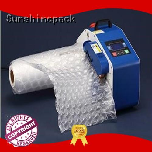 Sunshinepack company portable inflator manufacturer for package
