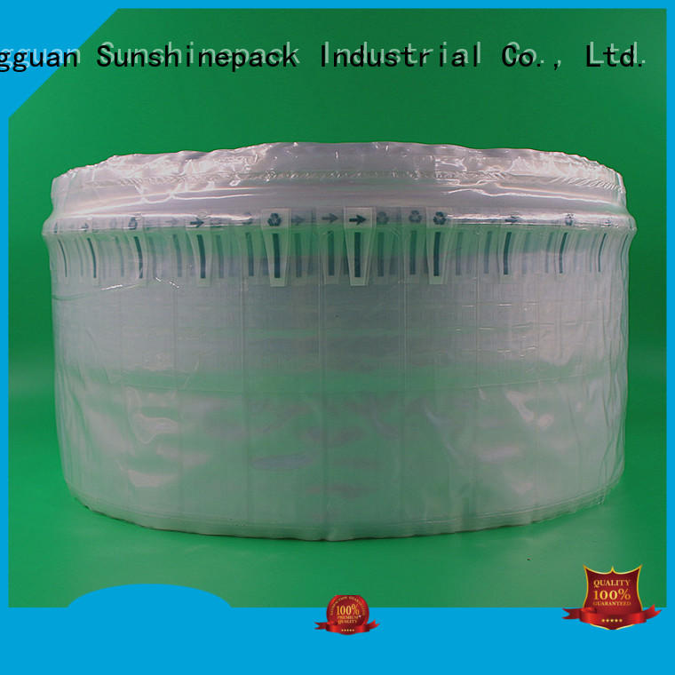 Sunshinepack cushioning bubble pack transportation for great column packaging