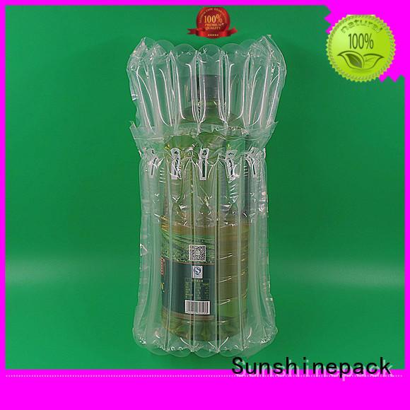 Sunshinepack free sample air cushion packaging company for transportation