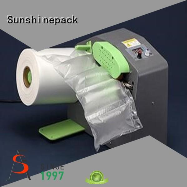 Sunshinepack company air filling machine for airbag