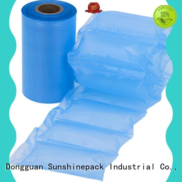 Sunshinepack supporting air pillow bag sheet for logistics