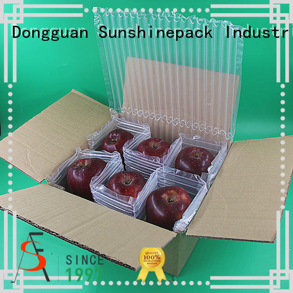 Sunshinepack top brand inflatable air cushion factory for transportation