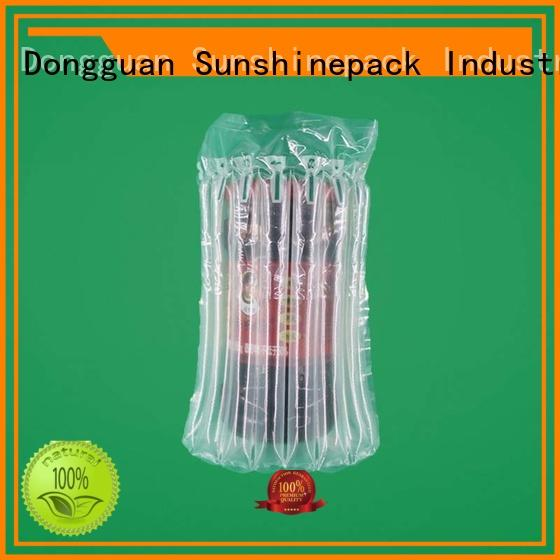 Sunshinepack hot inflatable packaging bags hot transportation