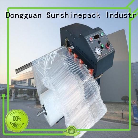 Sunshinepack industrial airbag inflator manufacturer for wrap