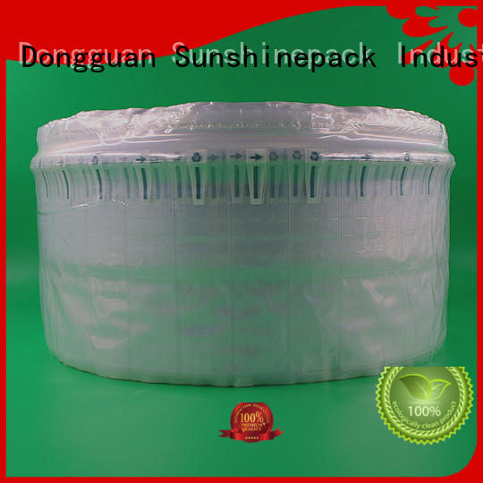 Sunshinepack protection air cushion packing company for delivery