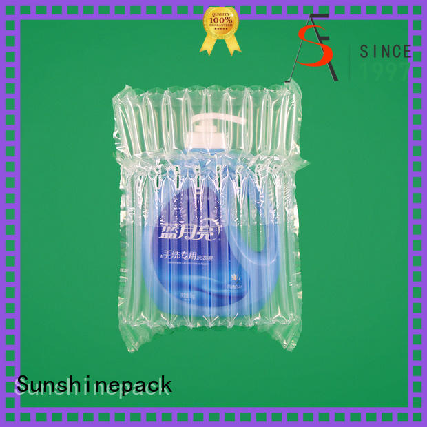 Sunshinepack hot inflatable packaging air bags now transportation