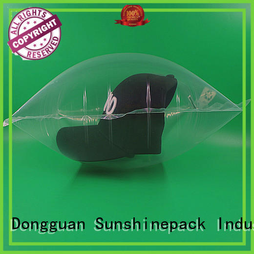logo pattern air bubble film carton for logistics Sunshinepack