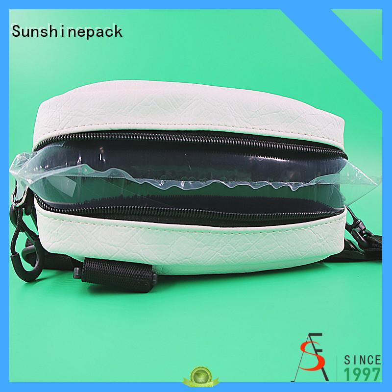 Sunshinepack logo pattern packing bubble wrap bags for transportation