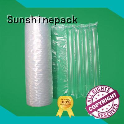 bubble sheet column for protection Sunshinepack