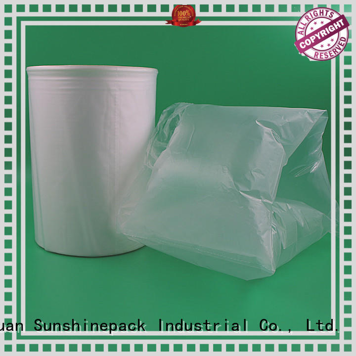Custom air bubble packing material roll packaging manufacturers for logistics