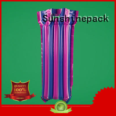 Sunshinepack Brand weight shipment air pouch packaging products supplier