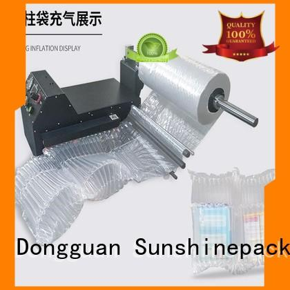 Sunshinepack durable inflating machine for wrap