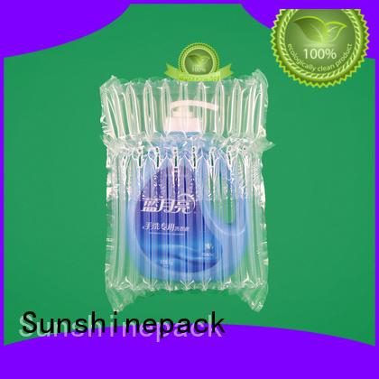 Sunshinepack Custom wine bottle air bag Supply for goods