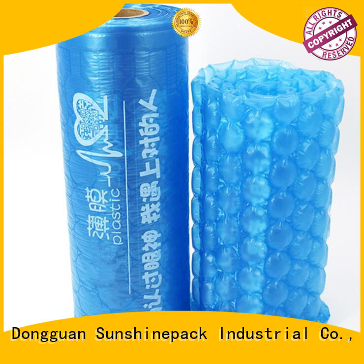Sunshinepack pollution-free air cushion bag newest for transportation