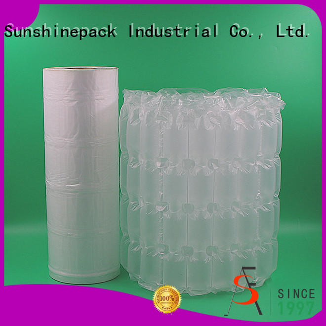 Sunshinepack High-quality bubble wrap packaging company for transportation