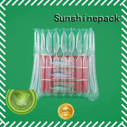 Sunshinepack Brand material can explosion air pouch packaging extrusion